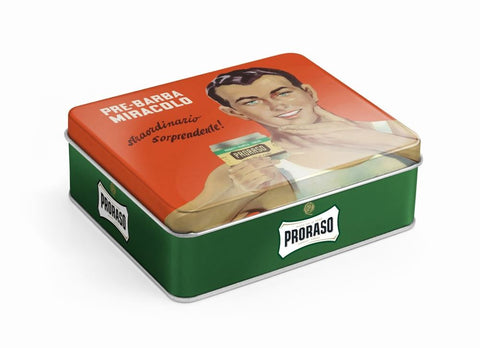 Proraso 3 piece Vintage Gift Box (Green - Eucalyptus & Menthol) - FineShave