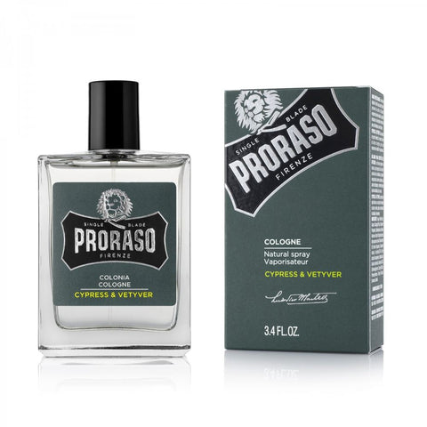 Proraso Cologne Cypress & Vetyver 100ml - FineShave