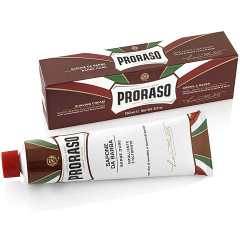 Proraso Sandalwood Shaving Cream with Shea Butter - FineShave