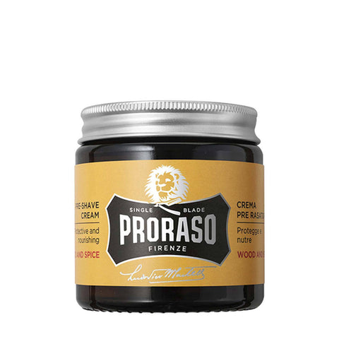 Proraso Wood and Spice Pre Shave Cream 100g - FineShave