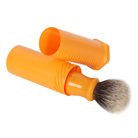 Protective Travel Tube for Shaving Brush (butterscotch)