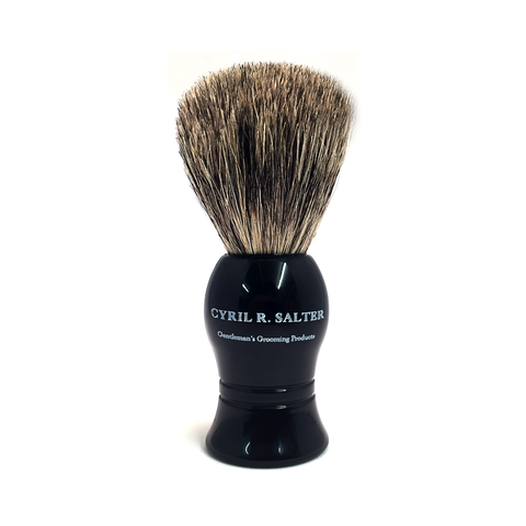Pure Badger Shaving Brush (black) - FineShave