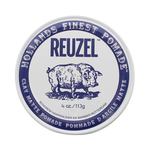 Reuzel Clay Matte Pomade High Hold Matte Finish 113gr - FineShave
