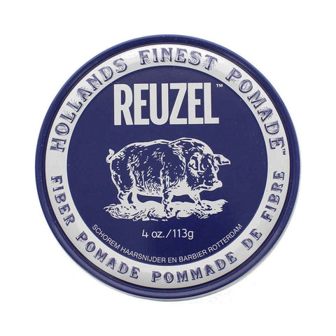 Reuzel Fiber Pomade Pliable Hold Natural Finish 113gr - FineShave
