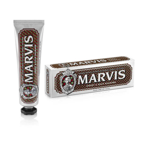 Marvis Toothpaste 75ml Tube - Sweet & Sour Rhubarb - FineShave