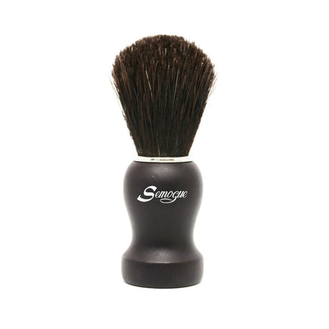 Semogue Pharos C3 Pure Black Horse Shaving Brush (Black)