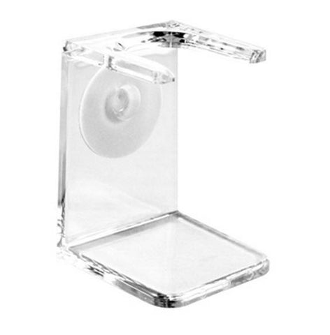 Shaving Brush Holder (Large, Clear) - FineShave