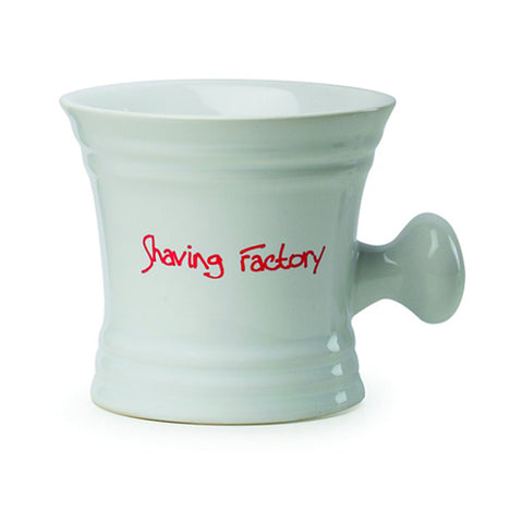 Shaving Factory Mug (white porcelain) - FineShave