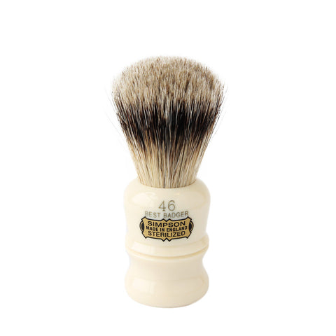Simpson Berkeley 46 Best Badger Shaving Brush - FineShave