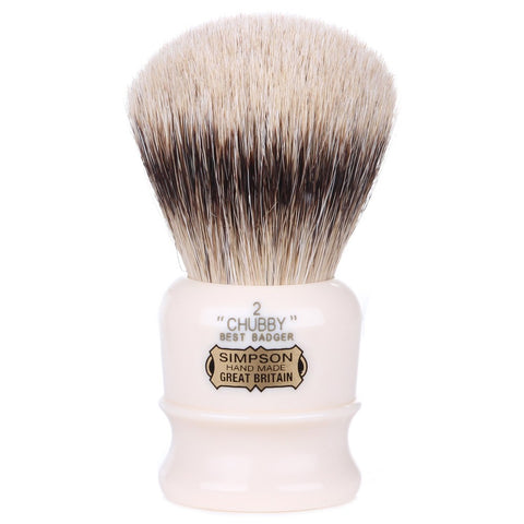 Simpson Chubby 2 Best Badger Shaving Brush - FineShave