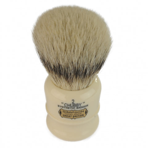 Simpson Chubby 2 High Quality Synthetic Shaving Brush - FineShave