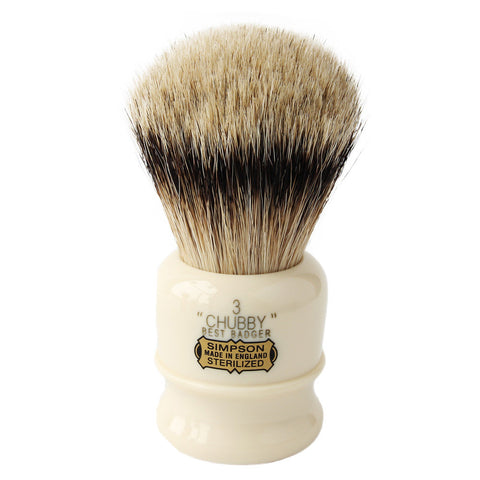 Simpson Chubby 3 Best Badger Shaving Brush - FineShave