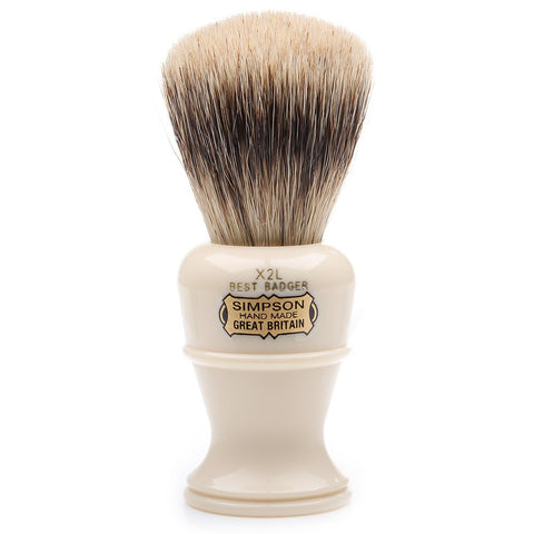 Simpson Colonel X2L Best Badger Shaving Brush - FineShave