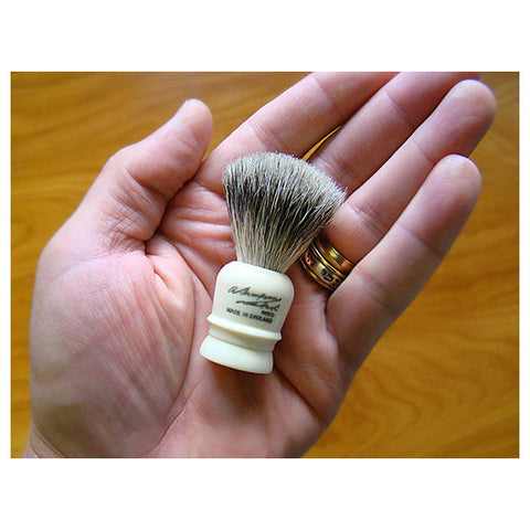 Simpson Wee Scot Best Badger Travel Shaving Brush - FineShave