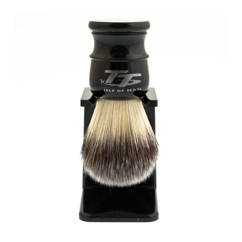 "Simpson ""Petrol Head"" TT Synthetic Shaving Brush with Stand"