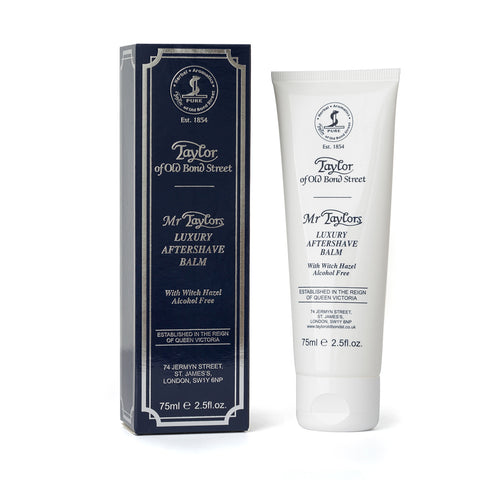 Taylor of Old Bond St Mr.Taylors Aftershave Balm 75ml Tube - FineShave