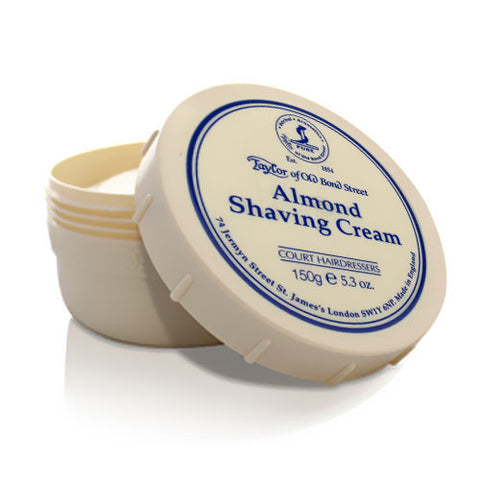 Taylor of Old Bond Street Almond Shaving cream Bowl - FineShave