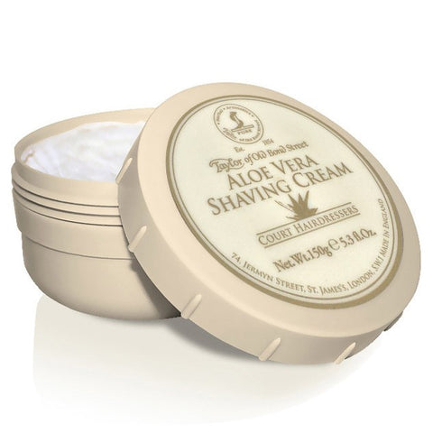 Taylor of Old Bond Street Aloe Vera Shaving cream Bowl - FineShave