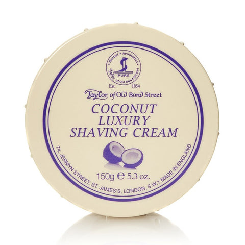 Taylor of Old Bond Street Coconut Shaving cream Bowl - FineShave