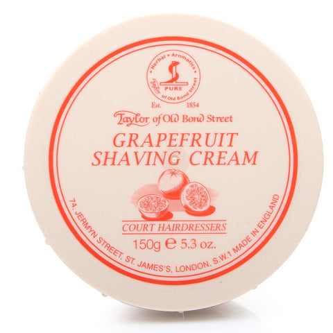 Taylor of Old Bond Street Grapefruit Shaving cream Bowl - FineShave