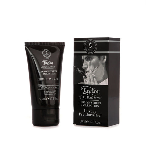 Taylor of Old Bond Street Jermyn Street Collection Pre Shave Gel 50ml - FineShave