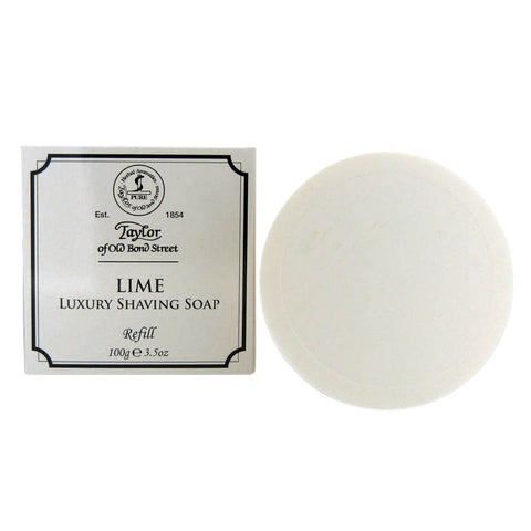 Taylor of Old Bond Street Lime Shaving Soap Refill - FineShave