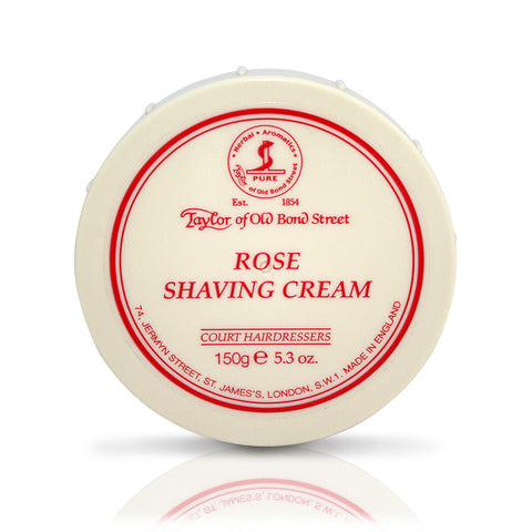 Taylor of Old Bond Street Rose Shaving cream Bowl - FineShave