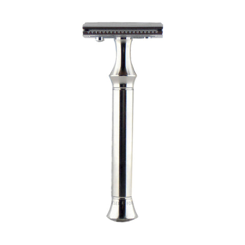Timor Safety Razor 1350 (Closed Comb, 100mm Stainless Steel Handle)