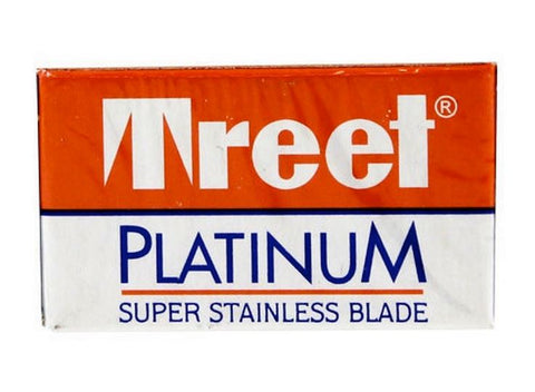 Pack of 10x Treet Platinum Stainless Razor Blades - FineShave