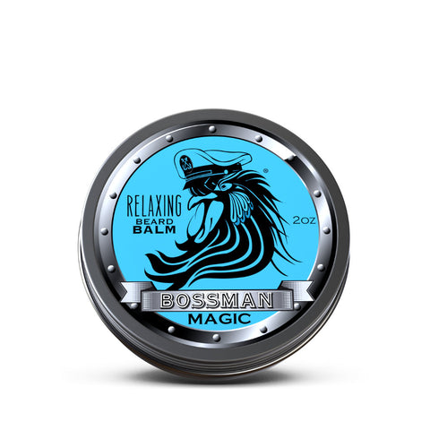 Bossman Relaxing Beard Balm Magic Blue 59ml - FineShave