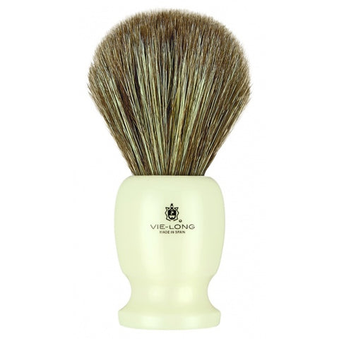 Vie-Long Premium Horse Hair Shaving Brush 12750 - FineShave