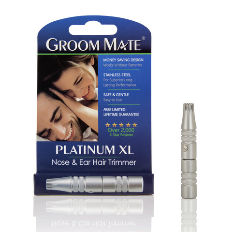 Groom Mate Platinum XL - Nose & Ear Hair Trimmer