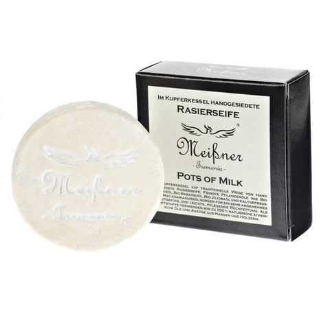 Meissner Tremonia Pots Of Milk Shaving Soap REFILL 65gr - FineShave