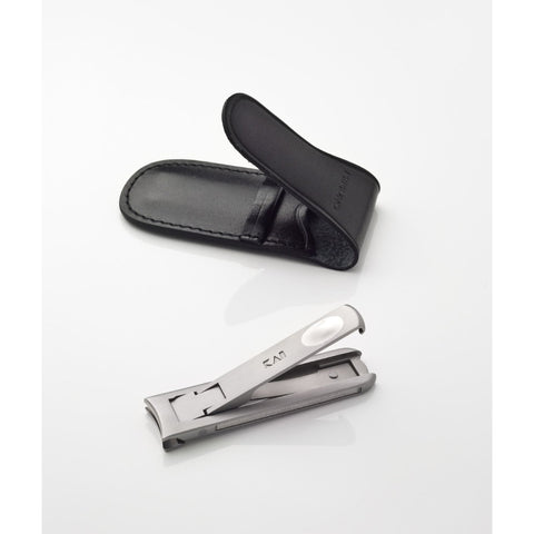 Kai Mimuno Nail Clippers with Leather Case PQ2001 - FineShave