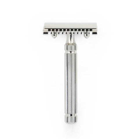 "Fatip ""Piccolo"" Nickel Open Comb Safety Razor"