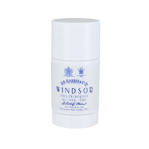 D R Harris Windsor Stick Deodorant Alcohol-free 75g