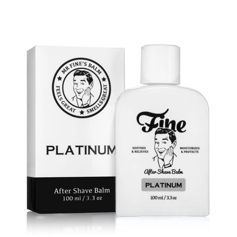 Fine Accoutrements Platinum After Shave Balm 100ml - FineShave