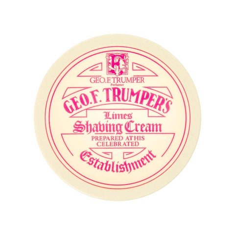 Geo. F. Trumper Extract of Limes Soft Shaving Cream 200g - FineShave