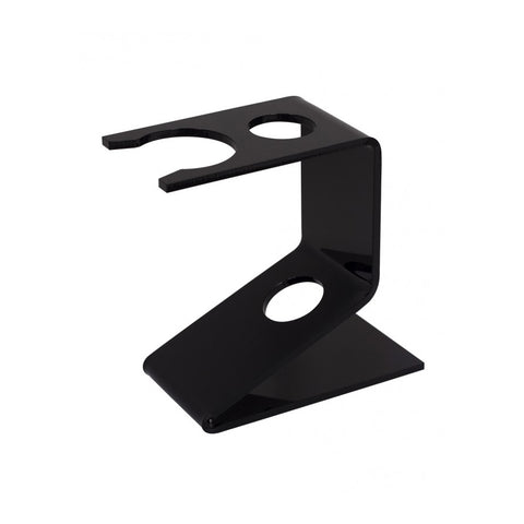 Semogue Razor & Brush Stand - Medium (Black plastic)