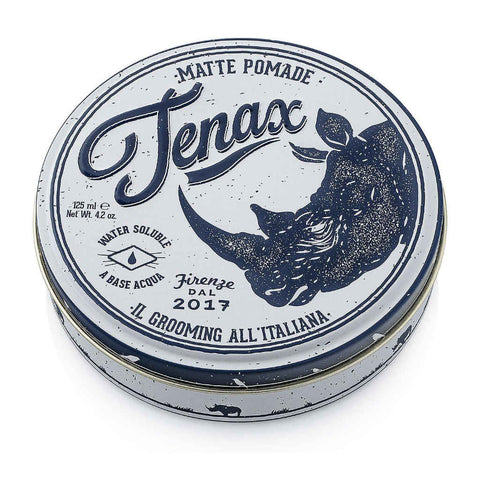 Tenax Pomade Matte Pomade 125ml (made by Proraso) - FineShave