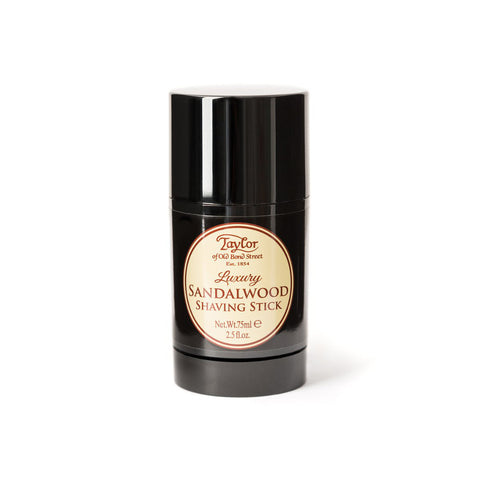 Taylor of Old Bond Street Sandalwood Shaving Stick 75ml - FineShave