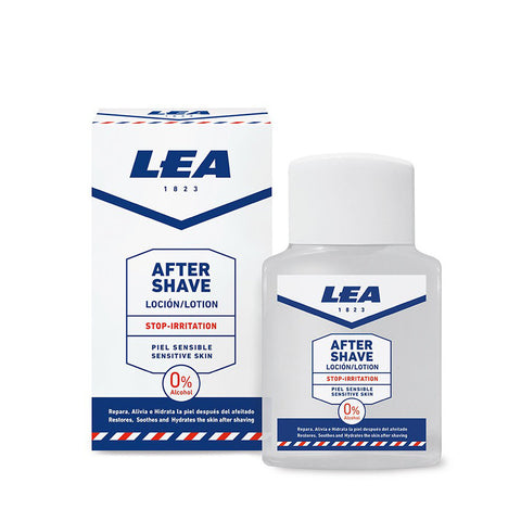 LEA Aftershave Stop-Irritation Lotion for Sensitive Skin 125ml - FineShave