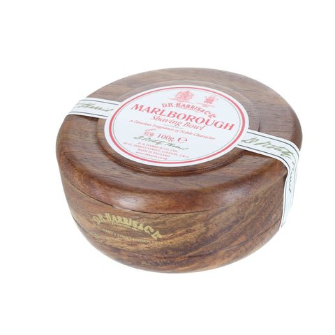 D R Harris Marlborough Shavng Soap Bowl (Mahogany) - FineShave