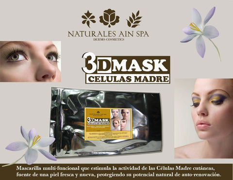 Facial 3D MASK CELULAS MADRE
