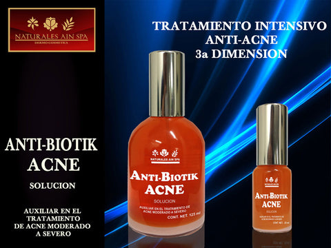Facial ANTI-BIOTICK ACNE 125ml