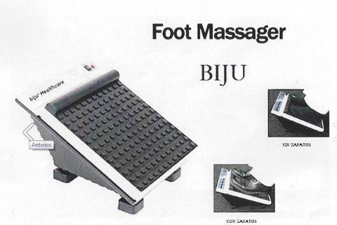 Masajeador de pies con o sin zapatos FOOT MASSAGER