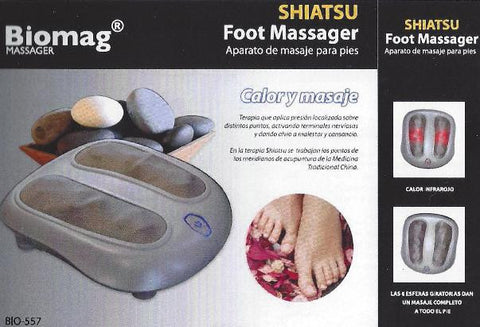 Masajeador de pies SHIATSU FOOT MASSAGER