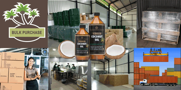 Wholesale Virgin Coconut Oil Bulk Buy