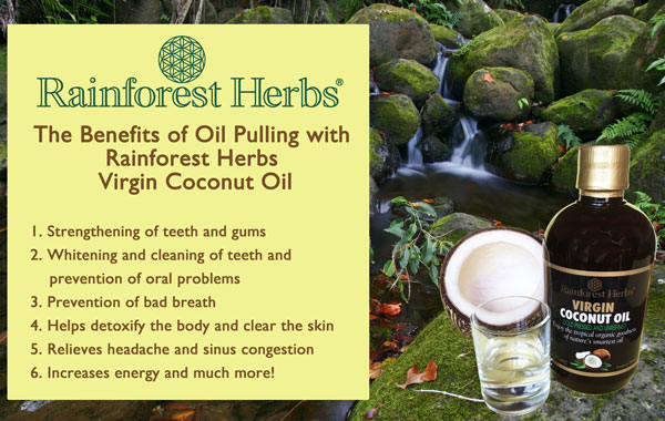 Oil Pulling with Virgin Coconut Oil (VCO) Malaysia