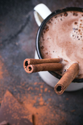 KetoCreme Chocolate Drink with MCT Powder, Erythritol and Lou Han Guo